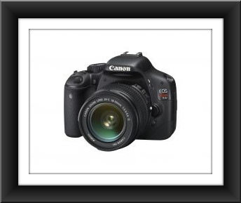 Canon EOS Rebel T2i 18MP with EF-S 18-55mm IS Lens Kit